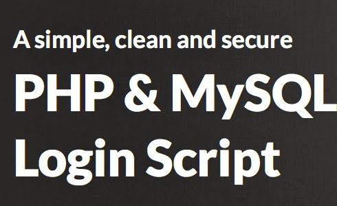 How To Create Login & Logout Using MySQL Database And PHP Script