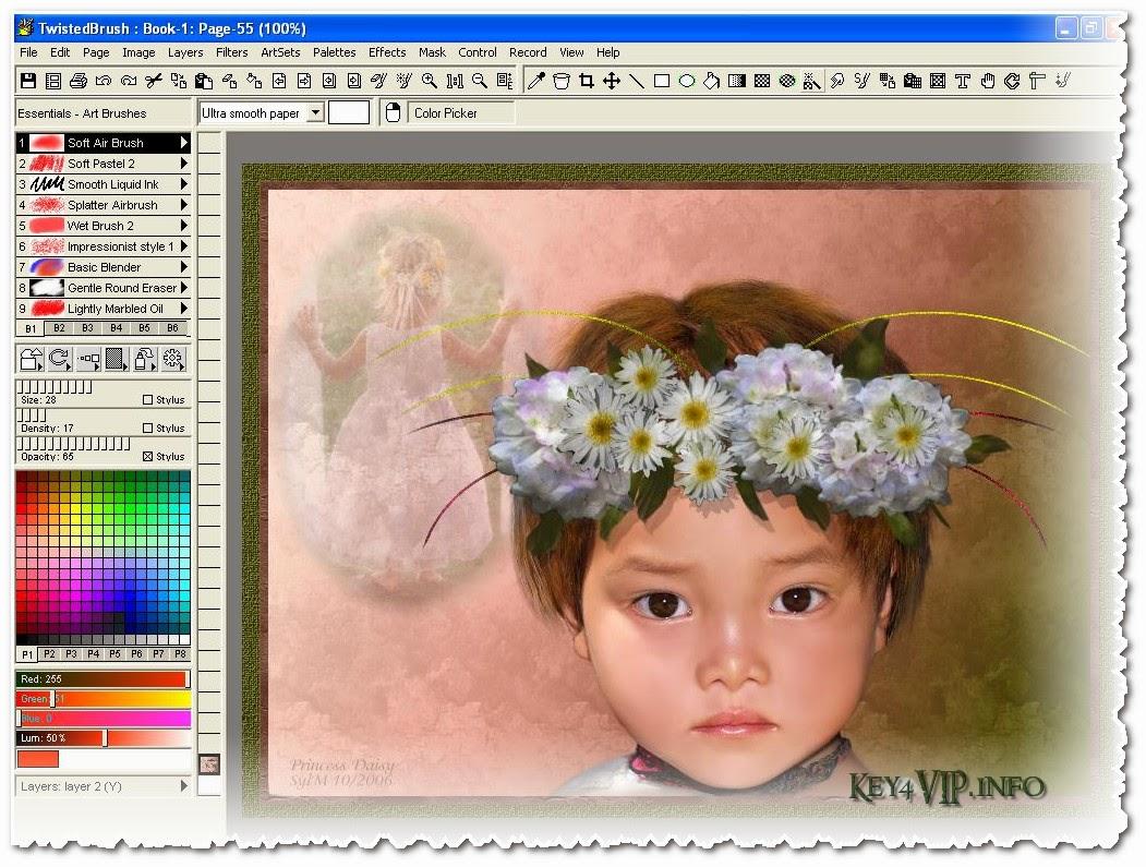 TwistedBrush Pro Studio v19 build 18 Full,Phần mềm vẽ tranh và hiệu ứng ảnh đa chức năng