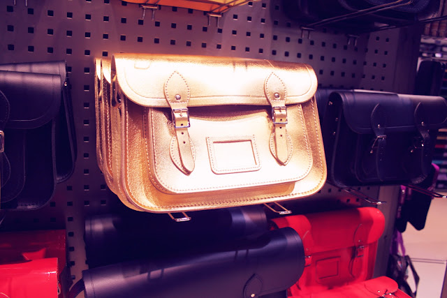 Gold Cambridge Satchel Selfridges Birmingham