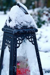 Lampe sous la neige - Berlin