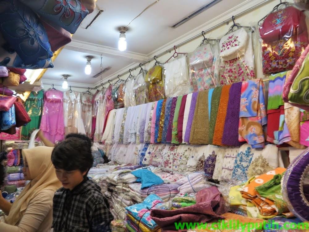 CikLilyPutih The Lifestyle Blogger Shopping Di Pasar Baru
