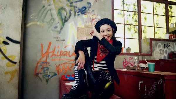 2NE1 Crush Dara