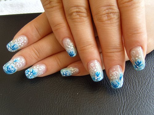 The Enchanting Black white cheetah nail designs Images