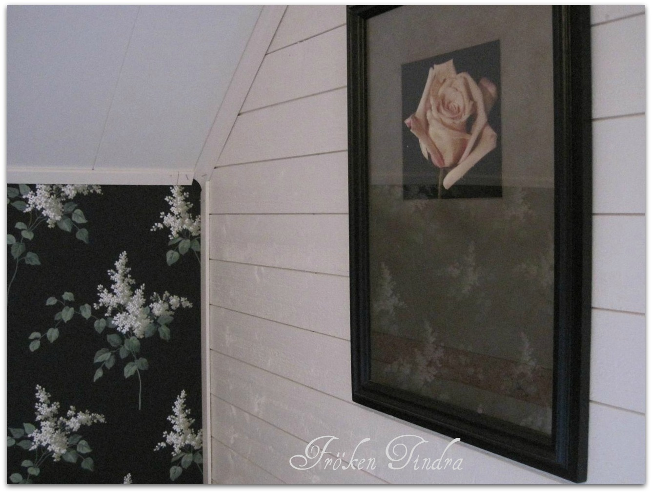Rosor & kaprifol: sovrummet igen...