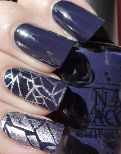 Roadhouse Blues, Touring America, OPI, BM208 China Glaze Sci-Fi