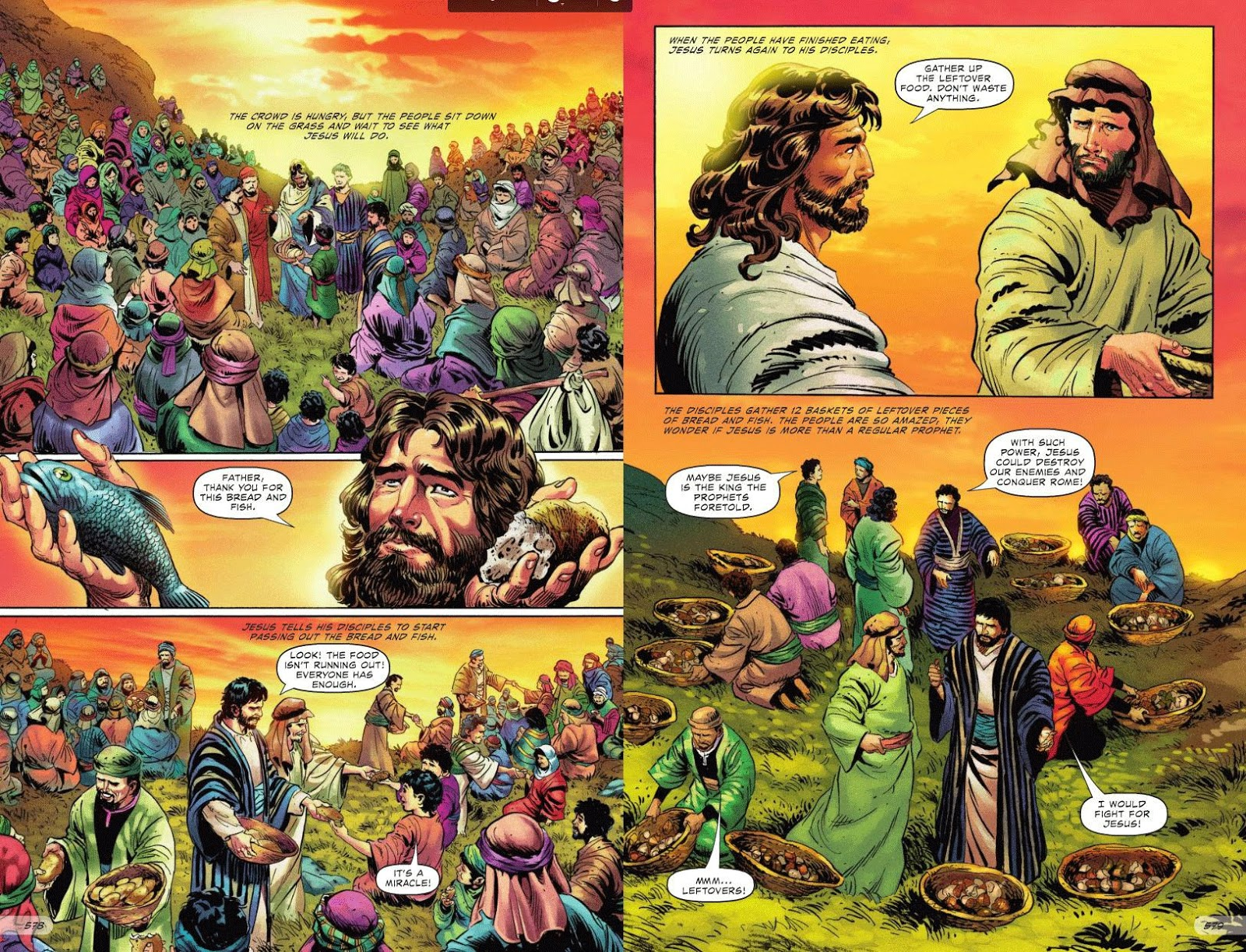 The Entire Bible To Published As A Graphic Comic Book Version
