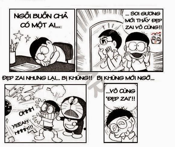 Thơ chế Nobita tự tin