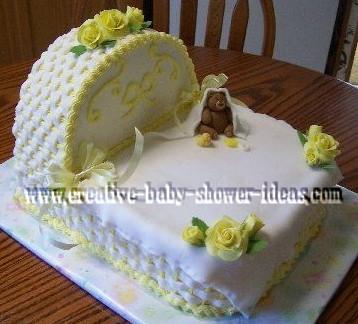 Bassinet Cake2