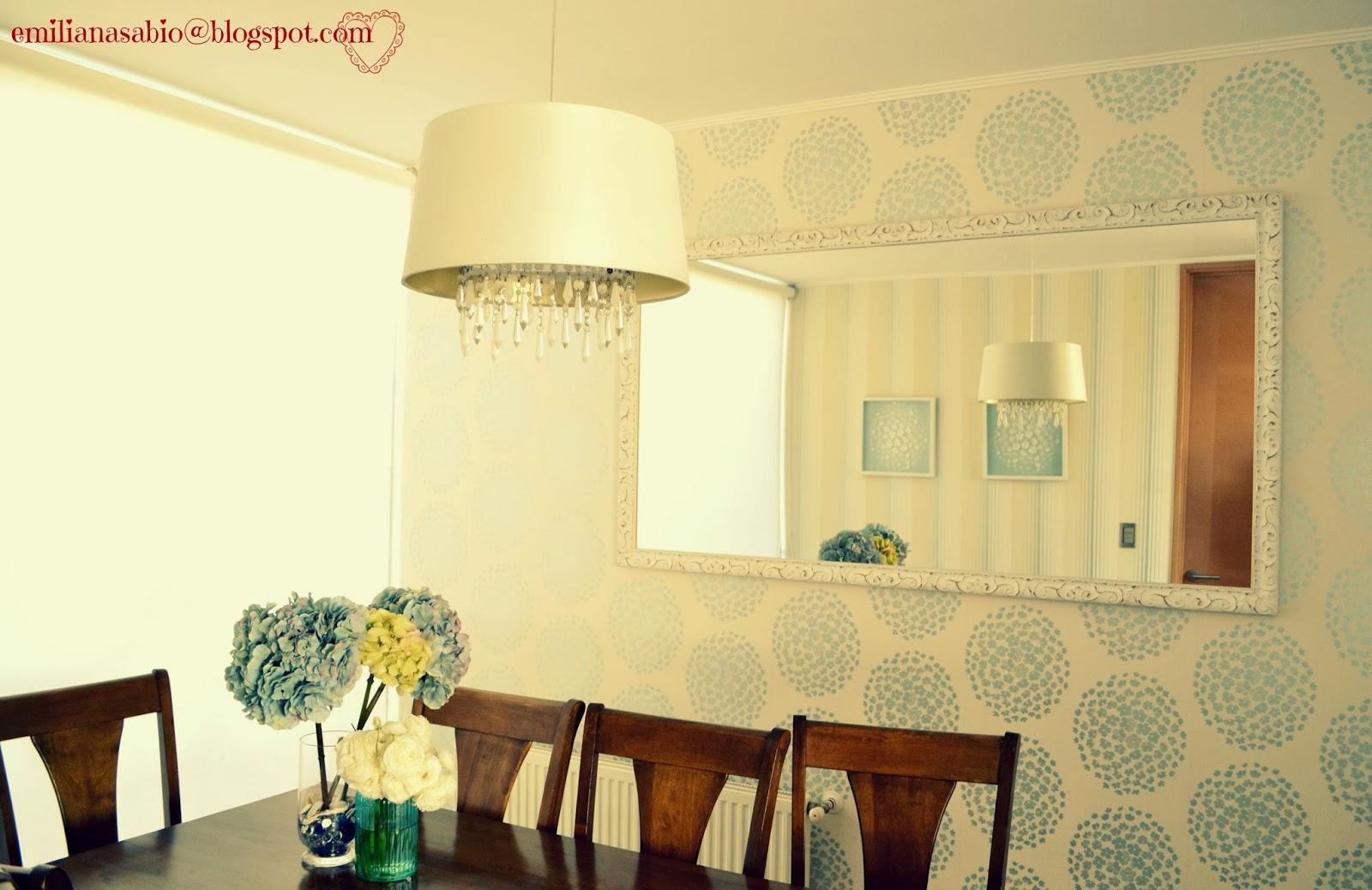 #AAA721 com o papel de parede que tenho na sala de jantar o papel de parede é 1600x1038 píxeis em Decoração De Sala De Jantar Com Papel De Parede E Espelho
