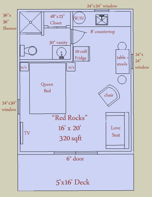 12x16 Tiny House Plans ~ Discover Your House Plans Here