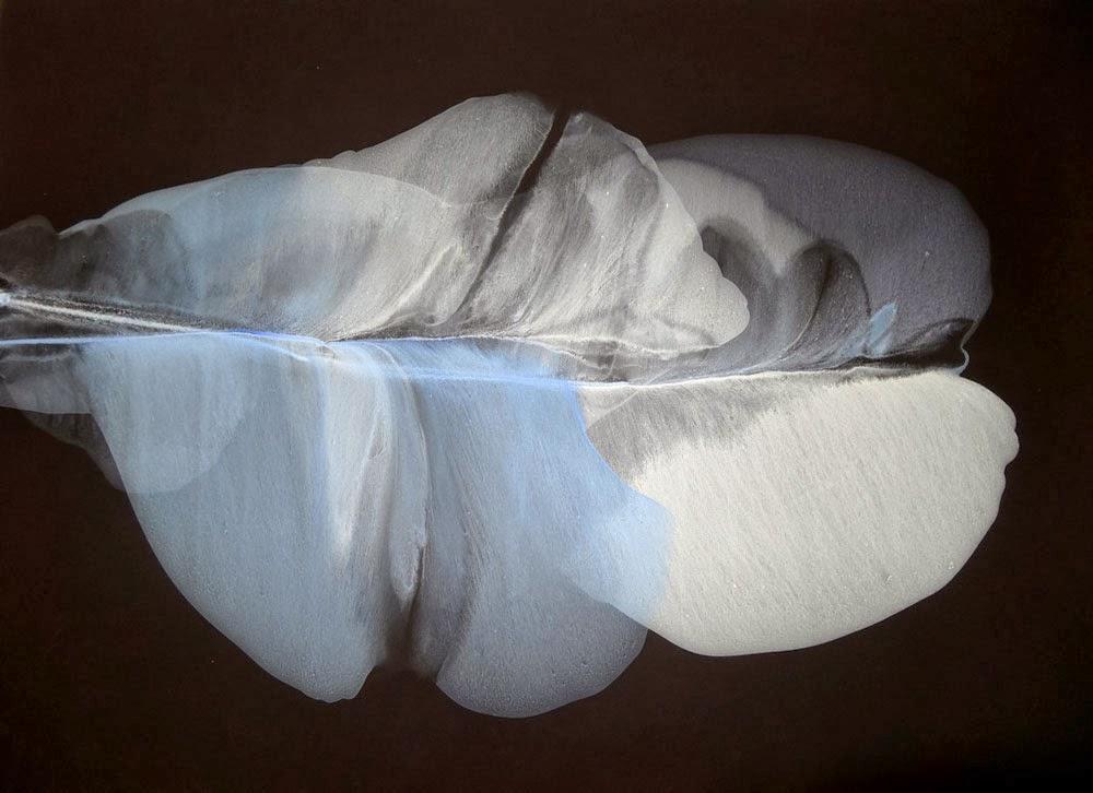 liquid acrylic paintings on stone paper tutorial