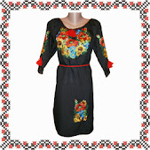 Вишивана сукня