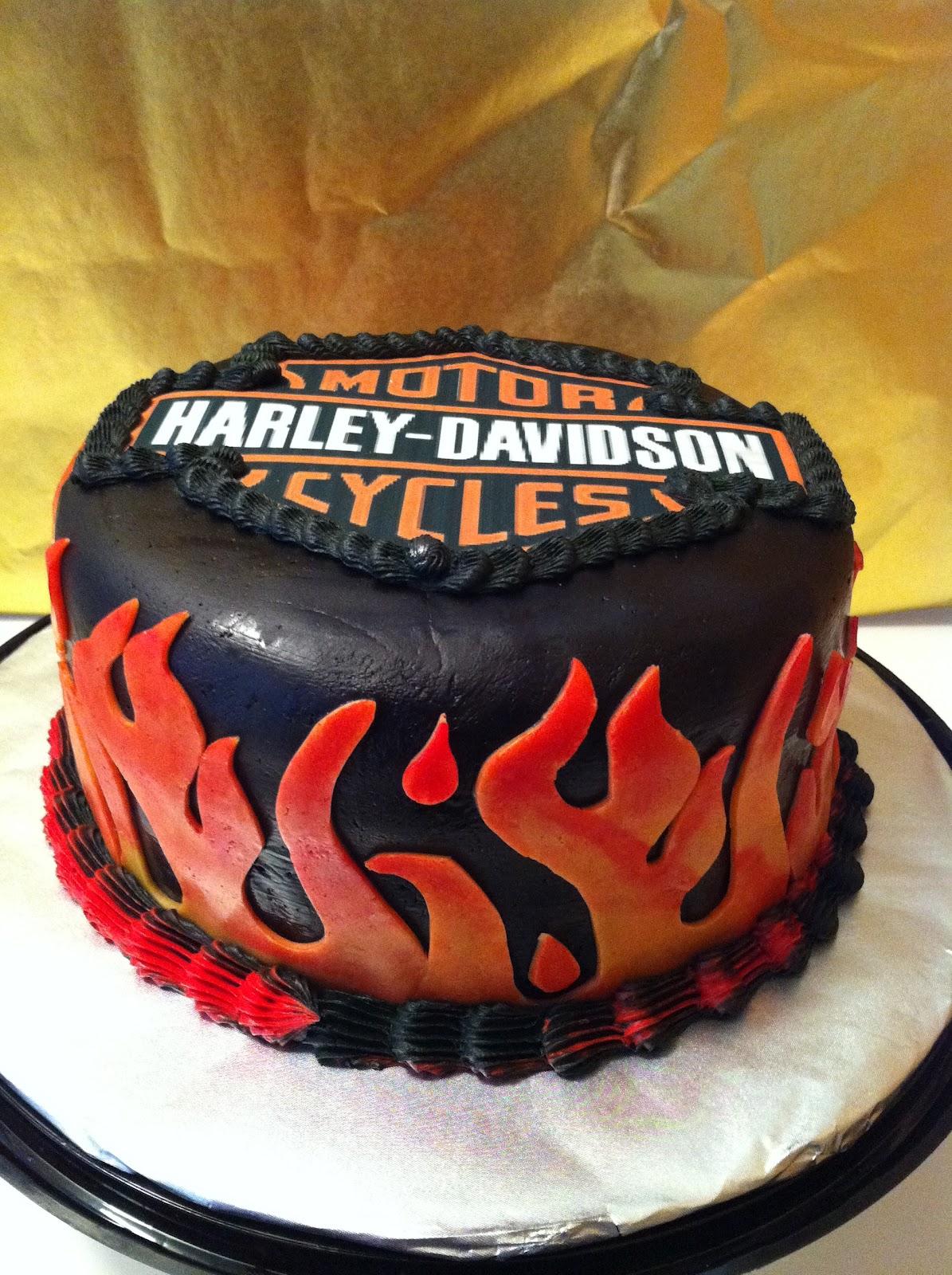 Harley-Davidson Birthday Cake Walmart