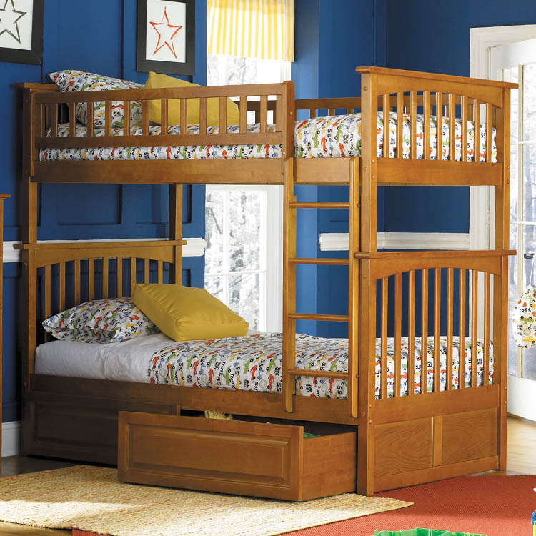 Bunk Beds with Drawers 750 x 750