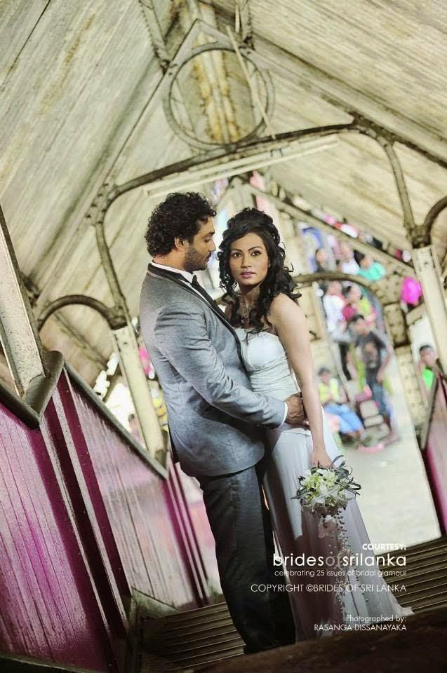 Chathurika pieris and gayan wedding dress