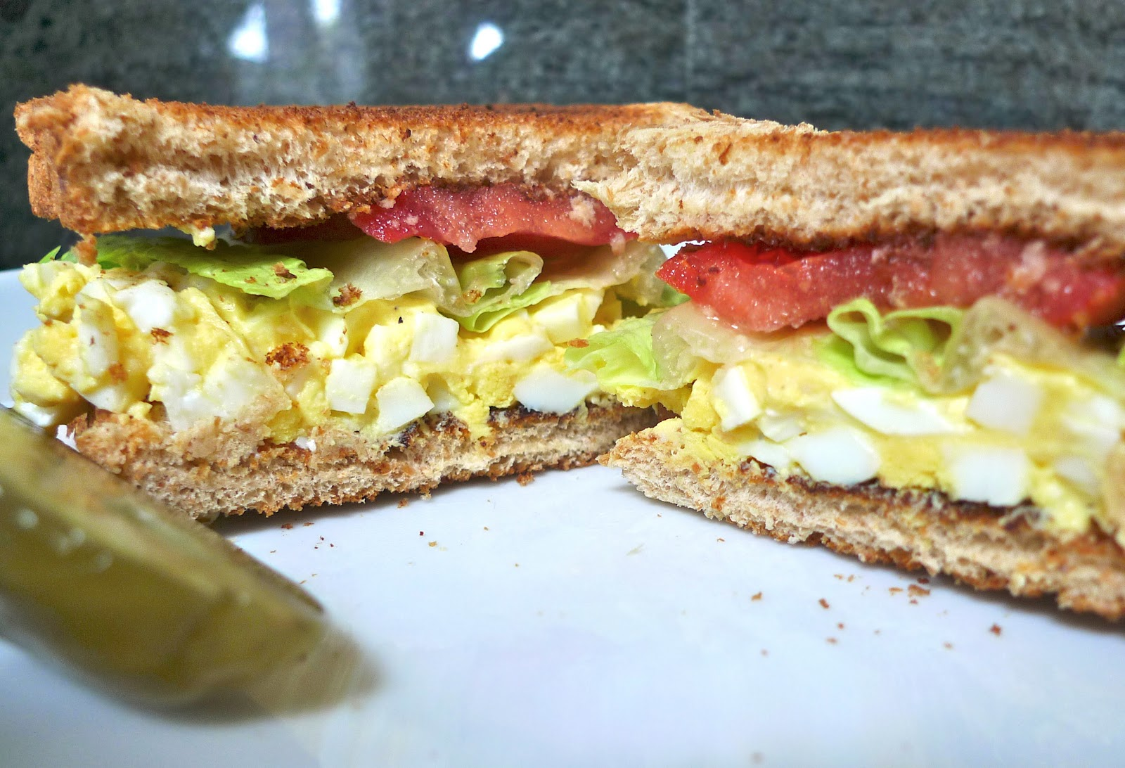 siriously delicious: Egg Salad Sandwich