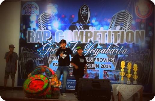Sosialisasi Program, BKKBN Gelar Lomba Rap dan Hip-Hop