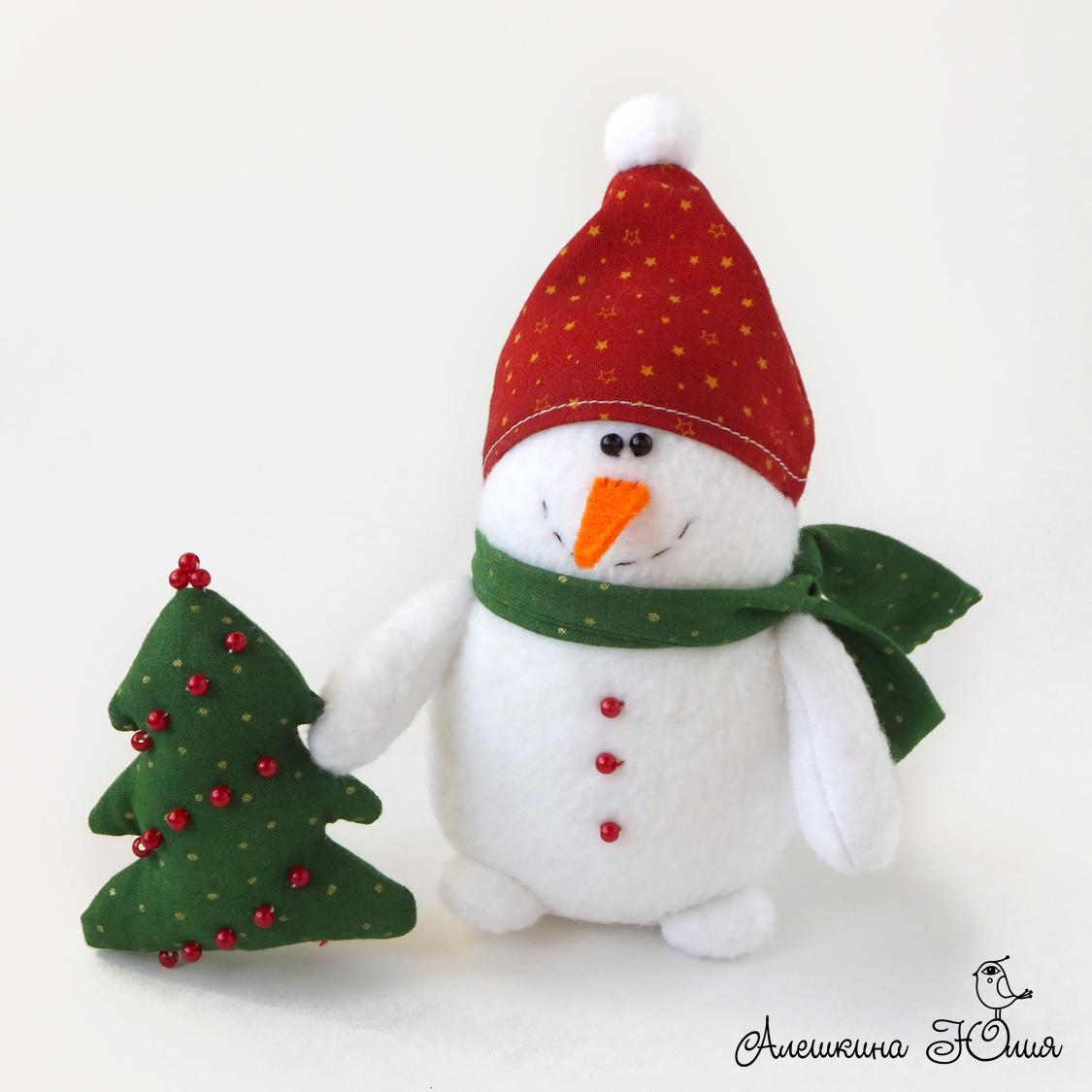 снеговик игрушка