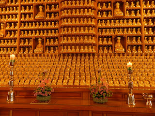 Almost 6000 buddha statues in Bonguensa temple