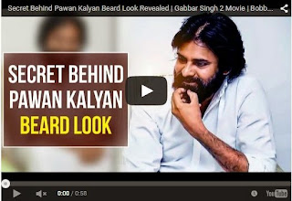 Secret Behind Pawan Kalyan Beard Look Revealed | Gabbar Singh 2 Movie | Latest Tollywood News | HD Videos