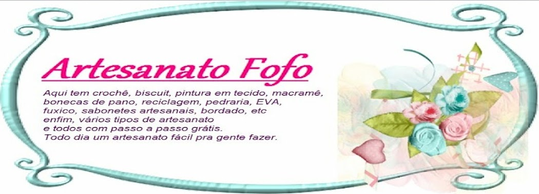 ARTESANATO FOFO