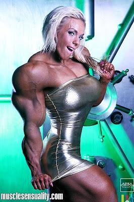 Minna Pajulahti muscle morph