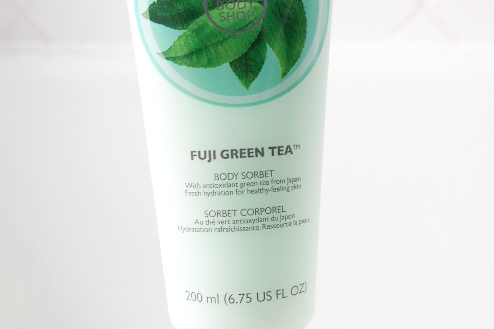 The Body Shop Fuji Green Tea Body Sorbet