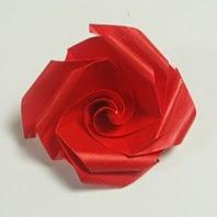 origami omuta rose