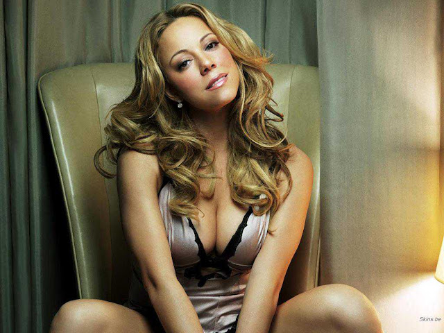 Mariah Carey's lingerie photos gallery