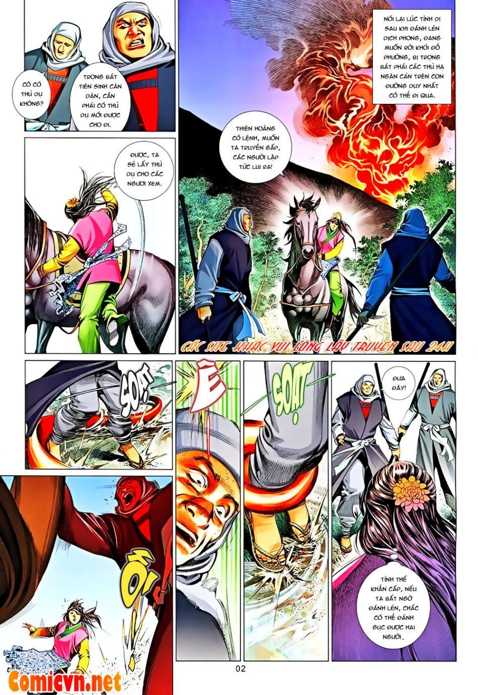 Phong Vân chap 650 Trang 2 - Mangak.info