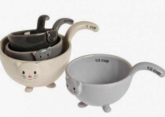 cat measuring cups stacking set of 4