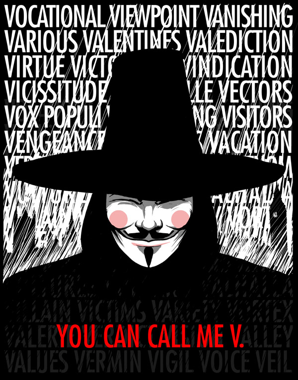 the following two quotes are from the film v for vendetta the attached ...