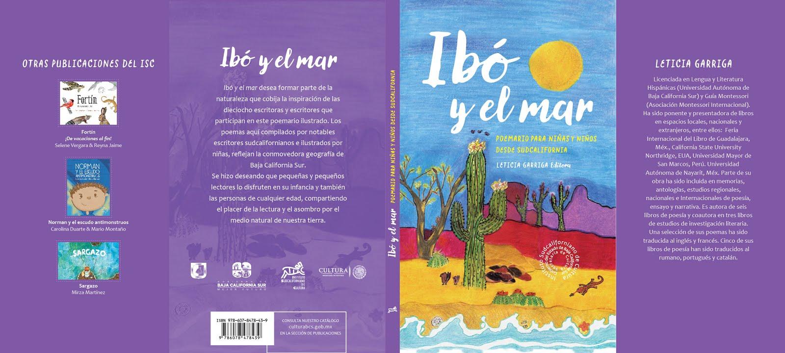 Ibó y el Mar. Poemario Ilustrado para niñas,niños y lectores de cualquier edad.