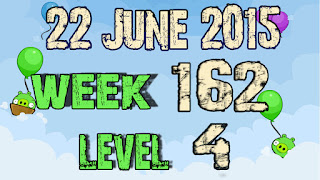 Angry Birds Friends Tournament level 4 Week 162