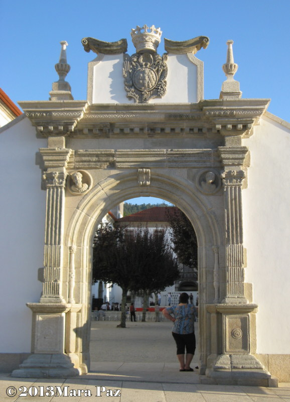 Arouca monastery gate