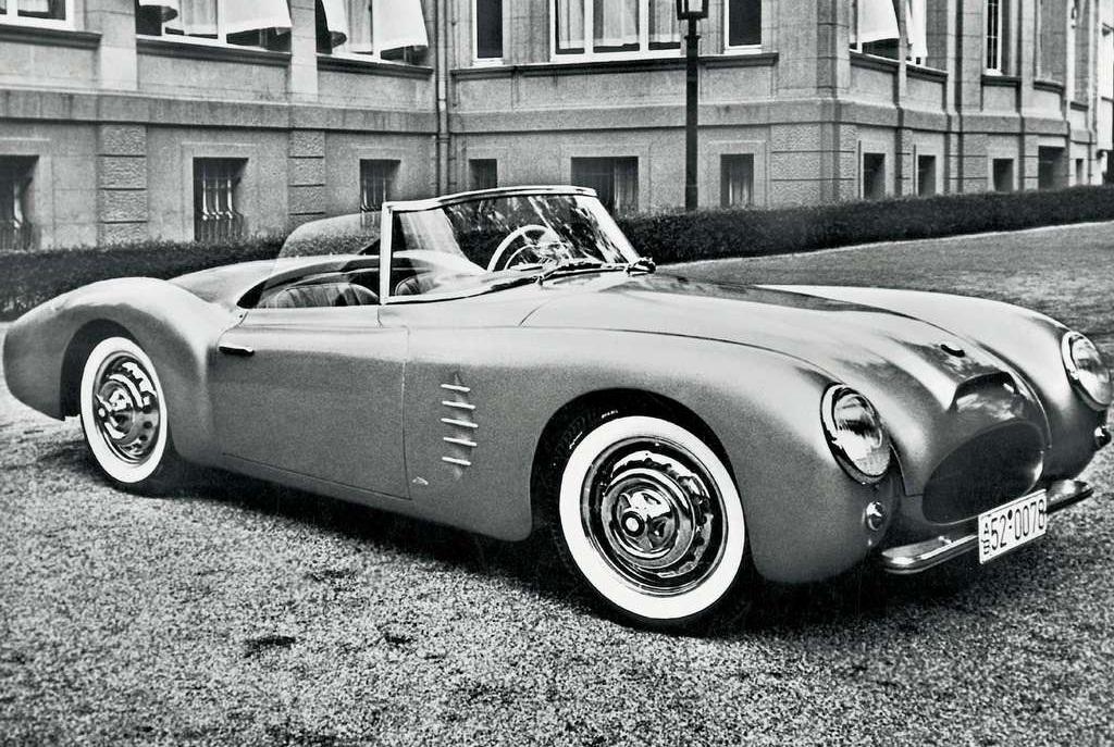 bmw fuel efficient car: 1954 BMW Roadster Sports Car