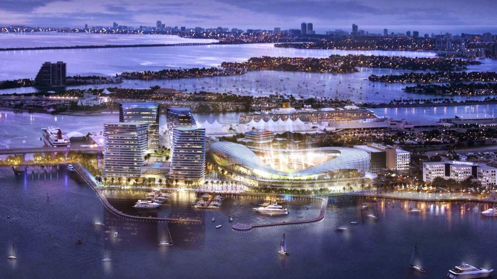 Patrocinada por el 01-Estadio-Port-Miami por Arquitectonica por David Beckham-
