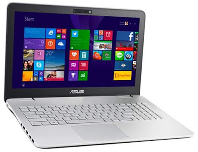 Review Notebook Asus N550ZU