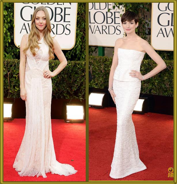 a filha do chefe Amanda Seyfried Chanel dress golden globes 2013