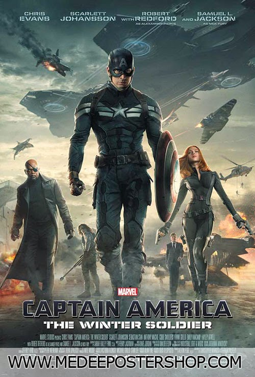 Captain America Poster Movie 2014
