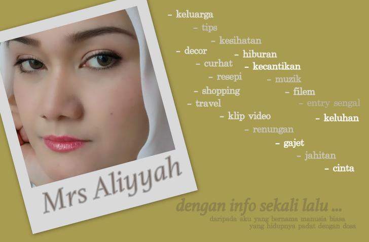 Mrs Aliyyah