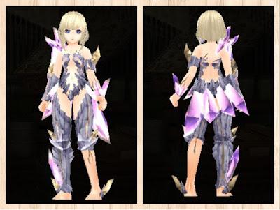 魔結晶の鎧重量化×灰色1染色