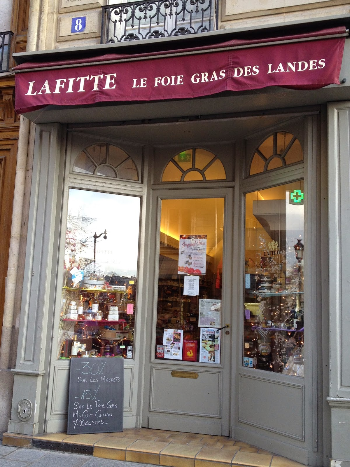 Lafitte shop on the Ile Saint-Louis, Paris