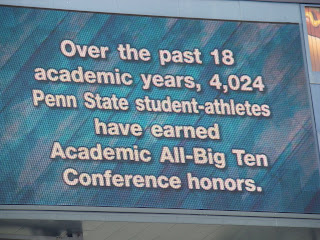 Athletics over Academics?  I don't think so!