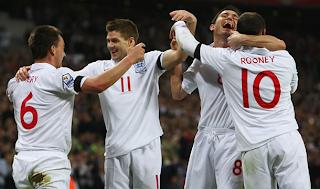 Convocados de Inglaterra para la Eurocopa 2012