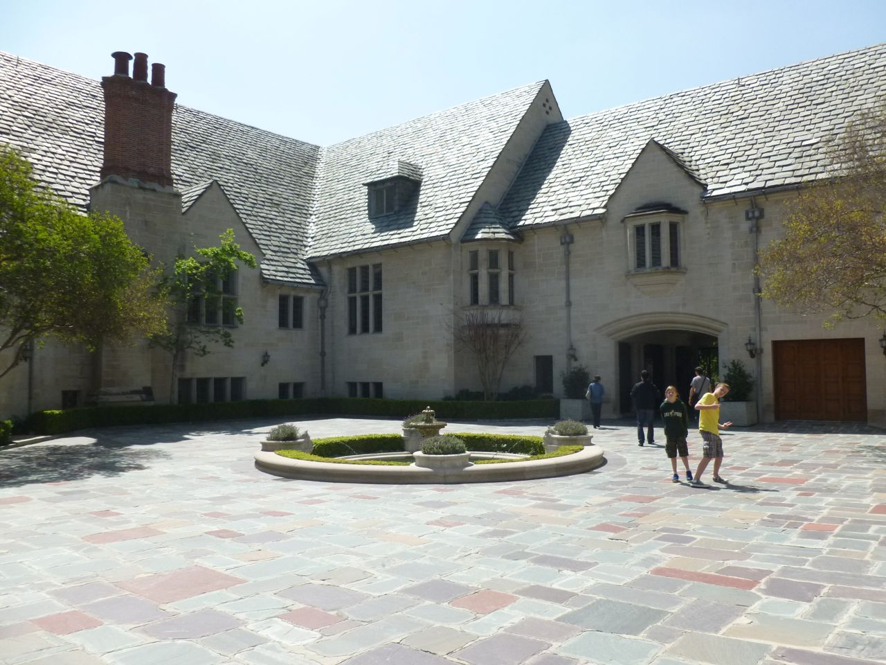 Experiencing Los Angeles Greystone Mansion Beverly Hills
