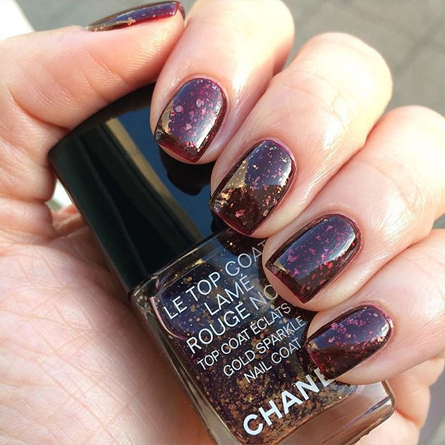 top coat lame chanel swatch