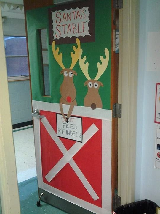 ... put the reindeer s paws over the nt so it read do feed the reindeer