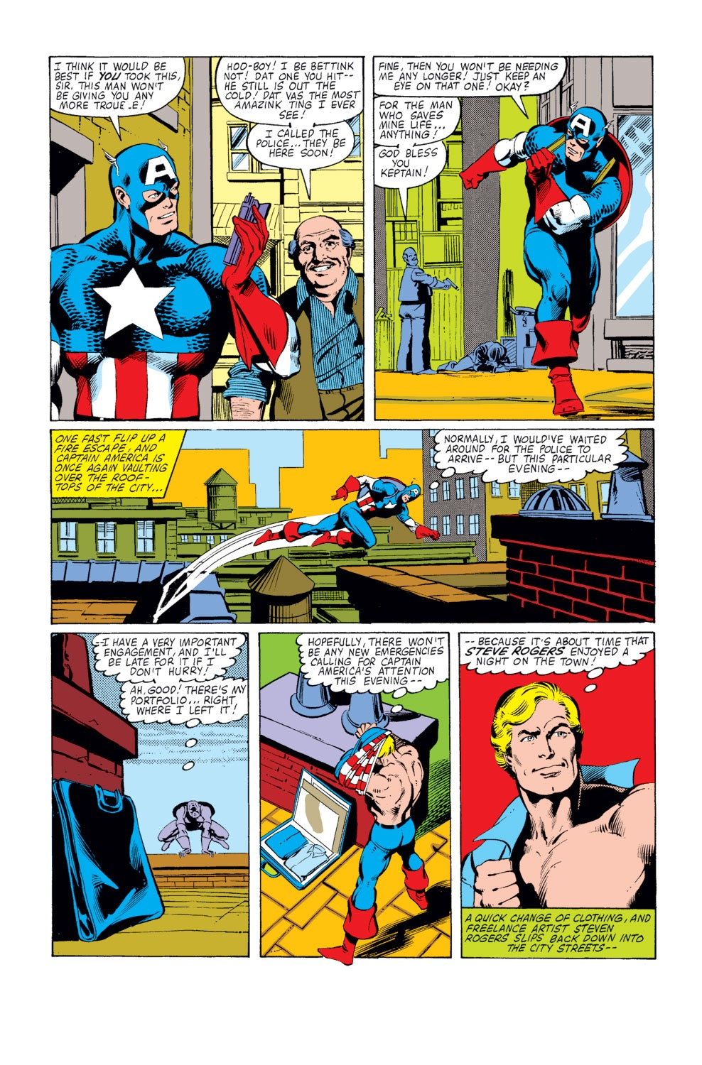 Captain America (1968) Issue #253 #168 - English 7
