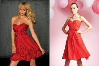 2 Vestidos Rojos de NocheVieja